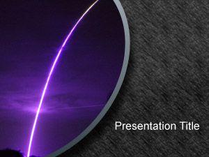 Asteroid PowerPoint Background