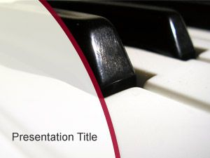 Piano PowerPoint Background