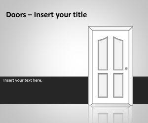 Doors PowerPoint Template