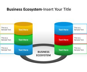 Business Ecosystem Actors PowerPoint Template