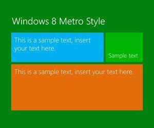 Windows 8 PowerPoint Template