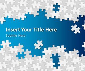 Puzzle Pieces PowerPoint Template
