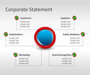 Corporate Statement PowerPoint Template
