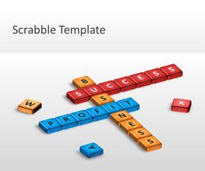 Scrabble PowerPoint Template