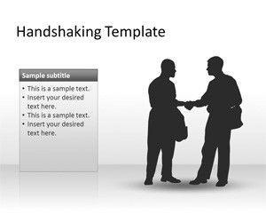 Handshaking PowerPoint Template