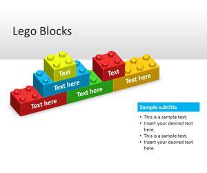 Lego Blocks PowerPoint Template