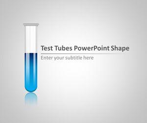 Test Tubes PowerPoint Shape