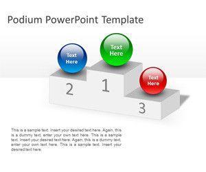 Podium PowerPoint Template