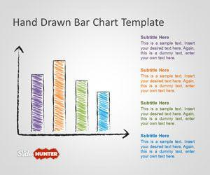Hand Drawn Bar Chart Template for PowerPoint