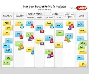 Kanban PowerPoint Template