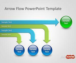 Arrow Flow PowerPoint Template