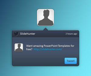 Twitter PowerPoint Template