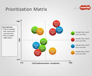 Prioritization Matrix PowerPoint Template
