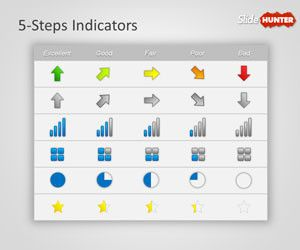 KPI Indicators Template for PowerPoint