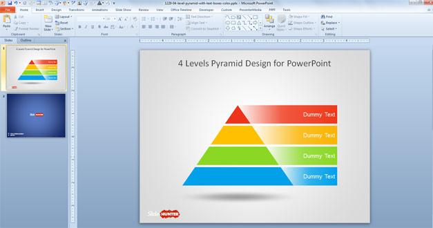 Free 3 Level Pyramid