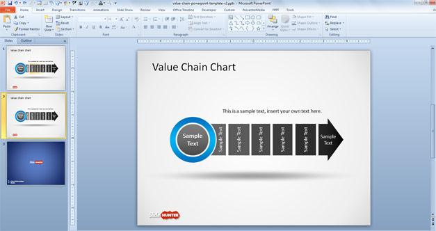 2-editable-value-chain-powerpoint-template