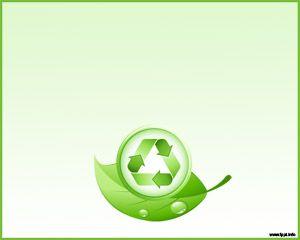 Green Slide Design for PowerPoint