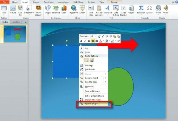 3d rotation effect powerpoint
