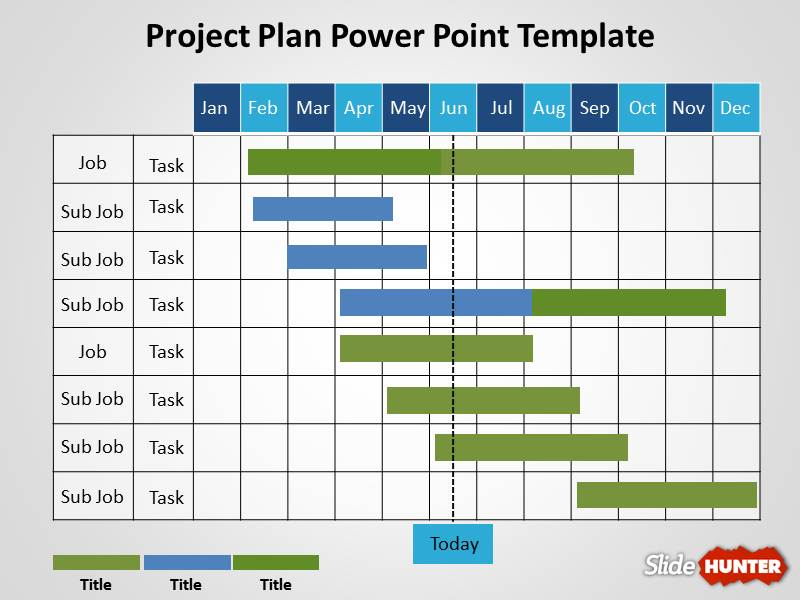 Project Plan PowerPoint Template