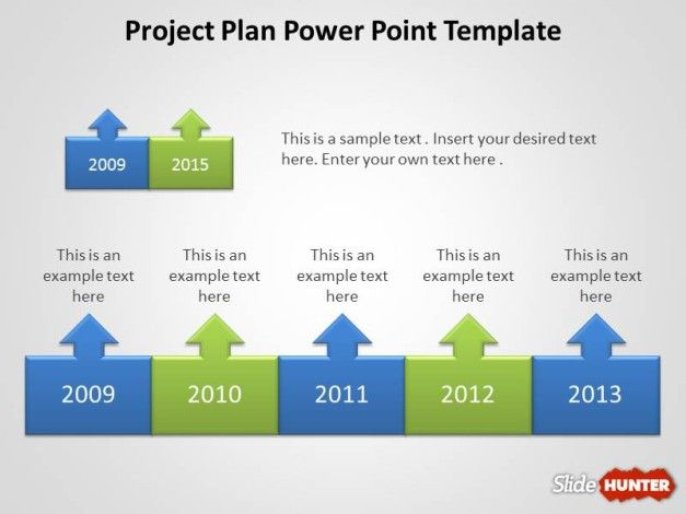 Project Planning PowerPoint template design with free download