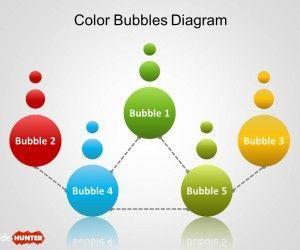 Simple Bubbles Diagram for PowerPoint
