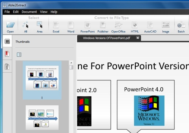 Able2Extract PDF Converter