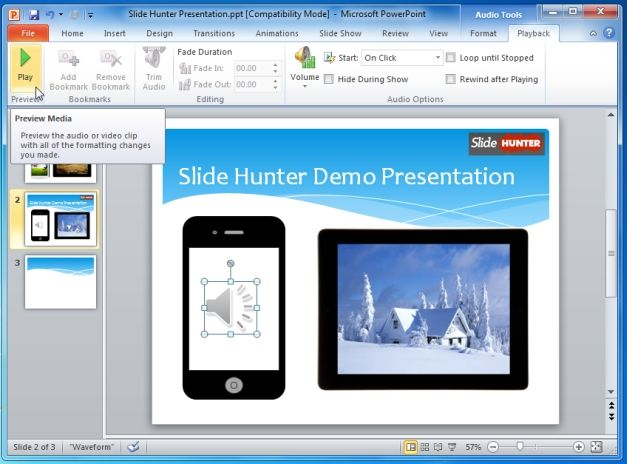 Add Music To PowerPoint Presentations
