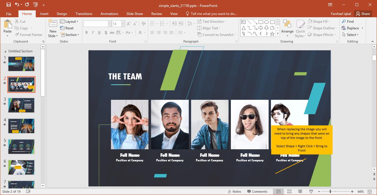 Add Your Team Information