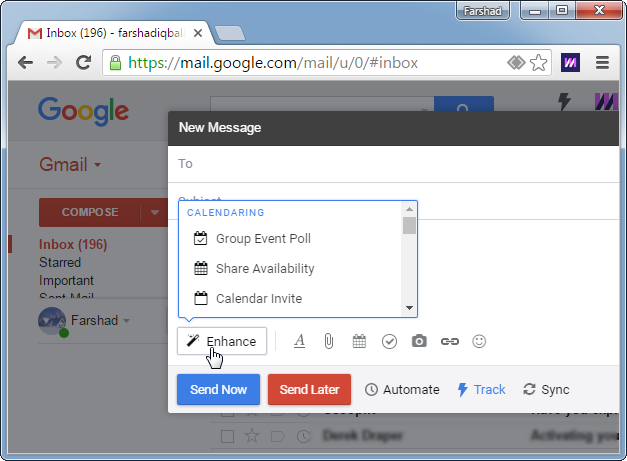 Add group polls and surveys in emails