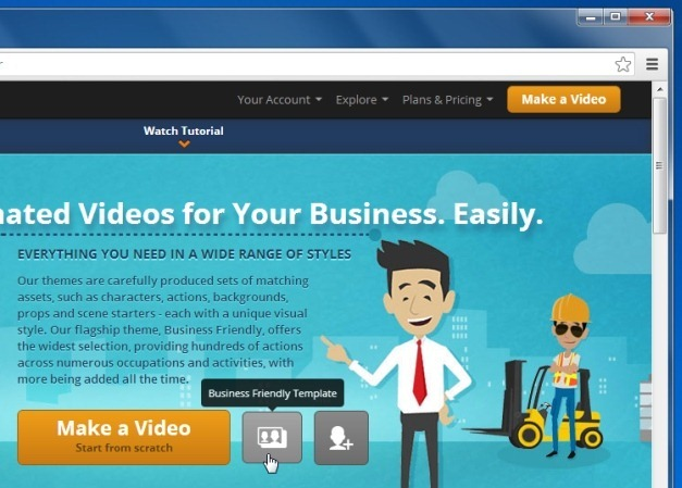 Animated Business Templates