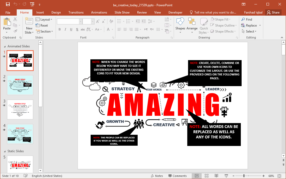 Creative PowerPoint Template