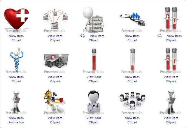 Animated Health Care Clipart