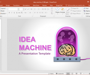 Animated Idea Infographics PowerPoint Template