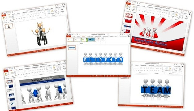 Best Animated Teamwork PowerPoint Templates