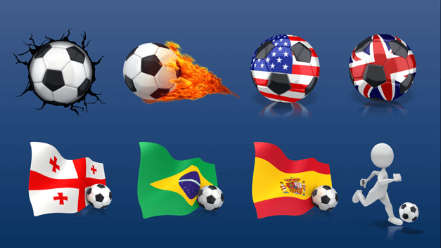 Best soccer clipart for PowerPoint