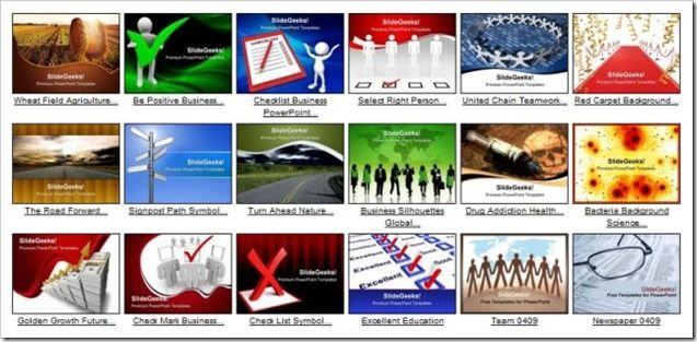 Business PowerPoint templates at SlideGeeks
