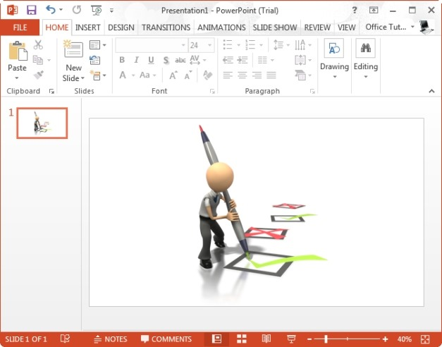 Check Marking Clipart