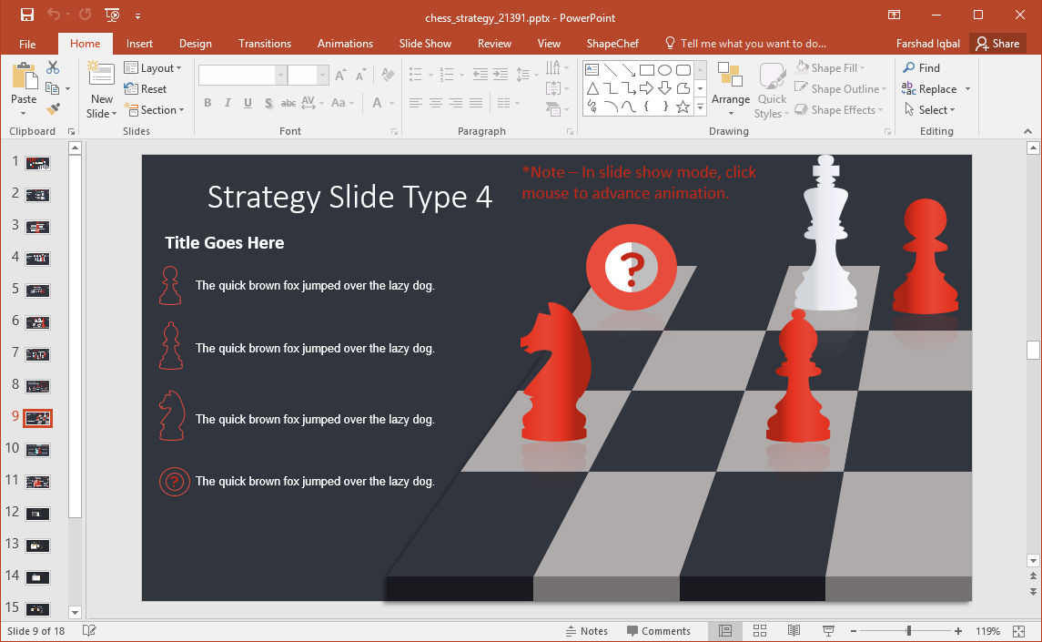 Chess Board Animations