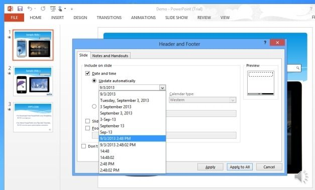 Choose Date And Time Formats