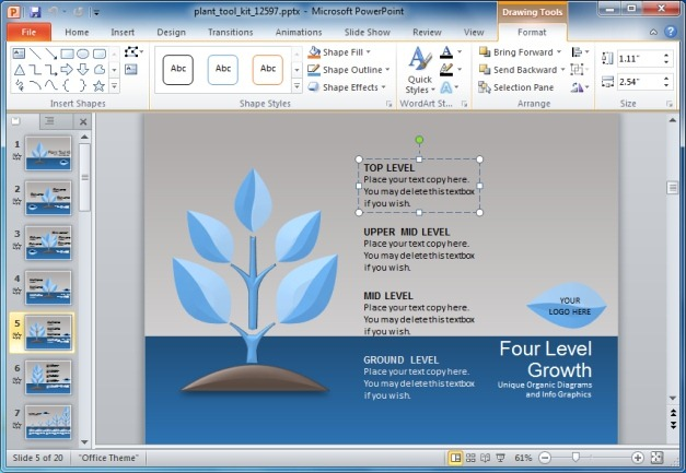 Create Animated Plant Slides