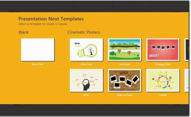 Create Presentations With Interactive Themes