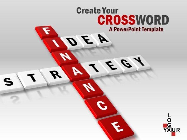 Create Your Crossword PowerPoint Template