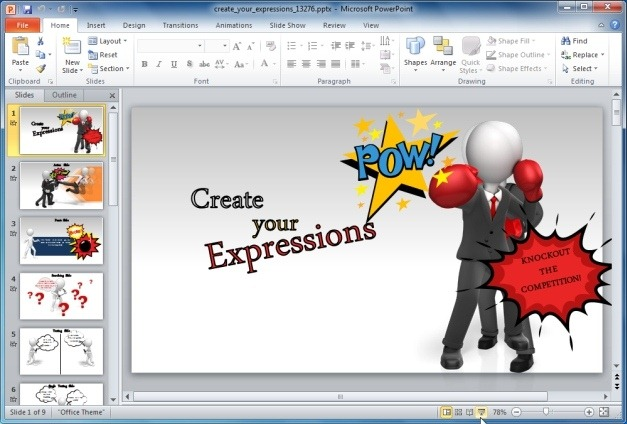 Create Your Expressions in PowerPoint