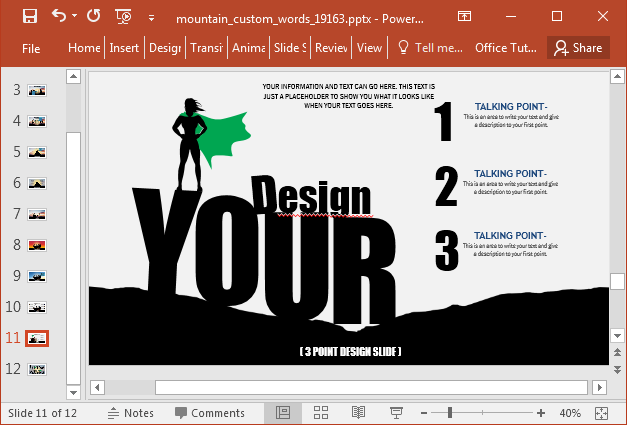 Create infographics and custom illustrations
