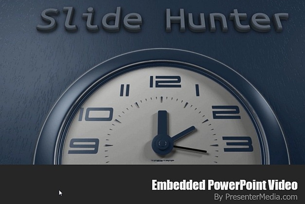Custom text with clock animation