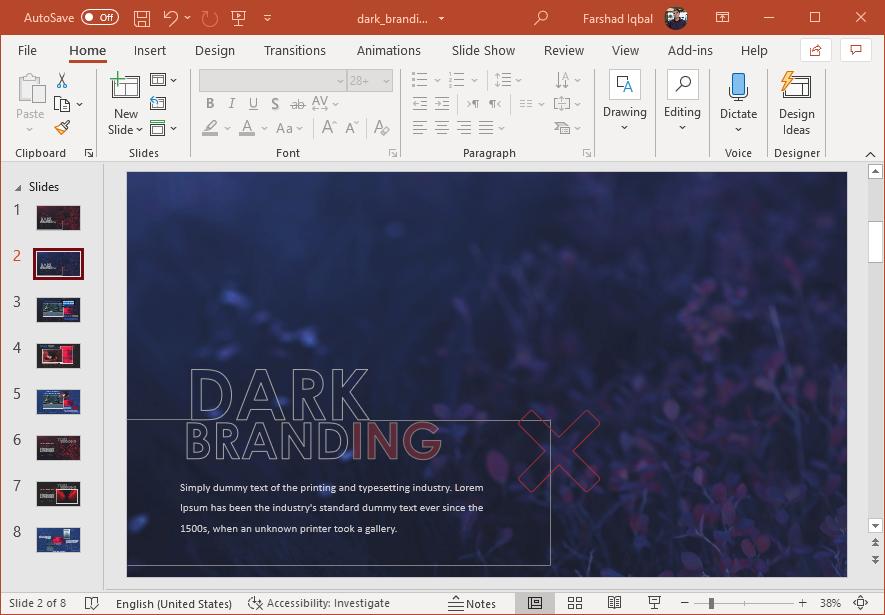 Dark branding for your business