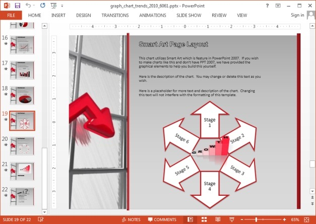 Diagram template for PowerPoint