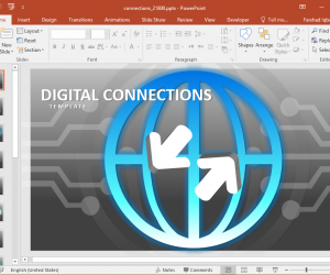 Digital Connections PowerPoint Template