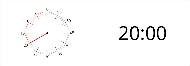 Digital or Analogue Timer