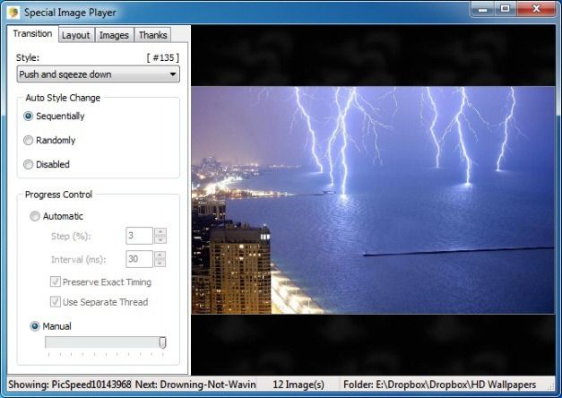 Display Photo SlideShows